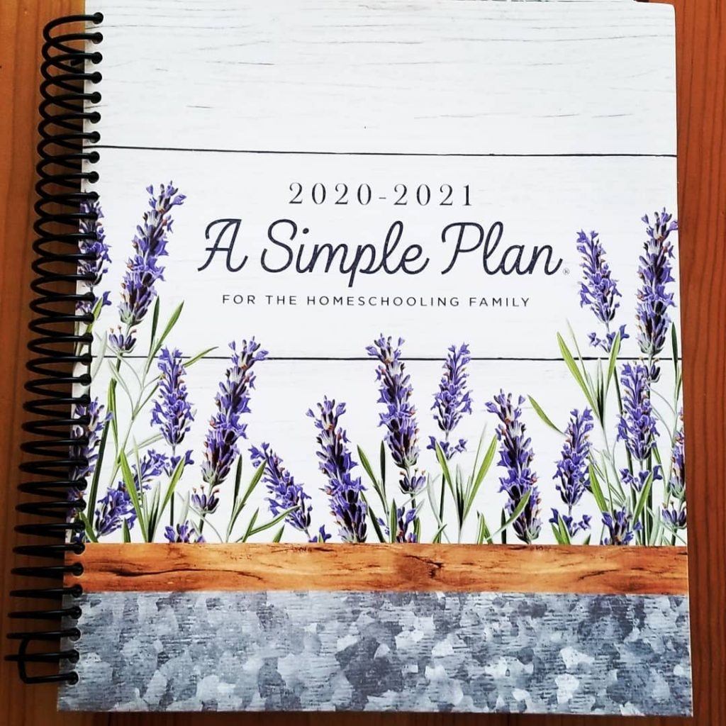 A Simple Plan Homeschool Planner by Mardel