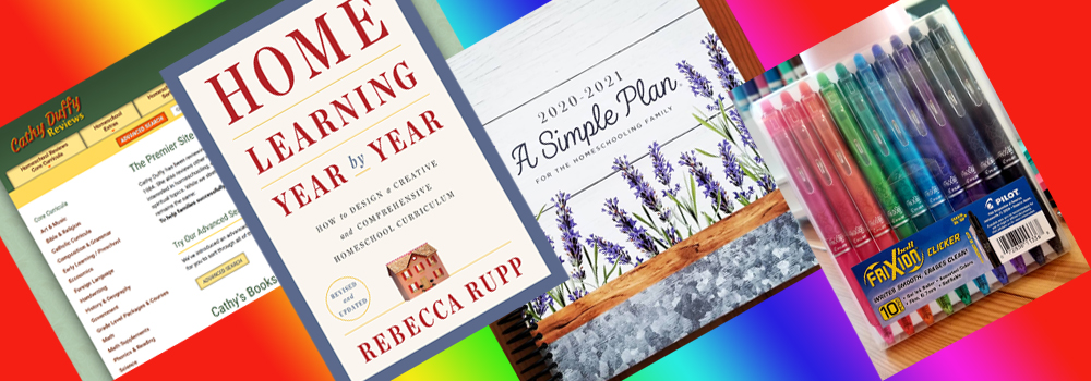 Homeschool Planning Prep Banner
