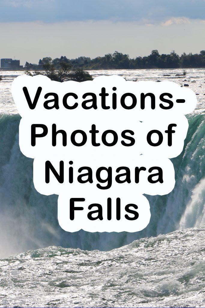 Vacations-Photos of Niagara Falls