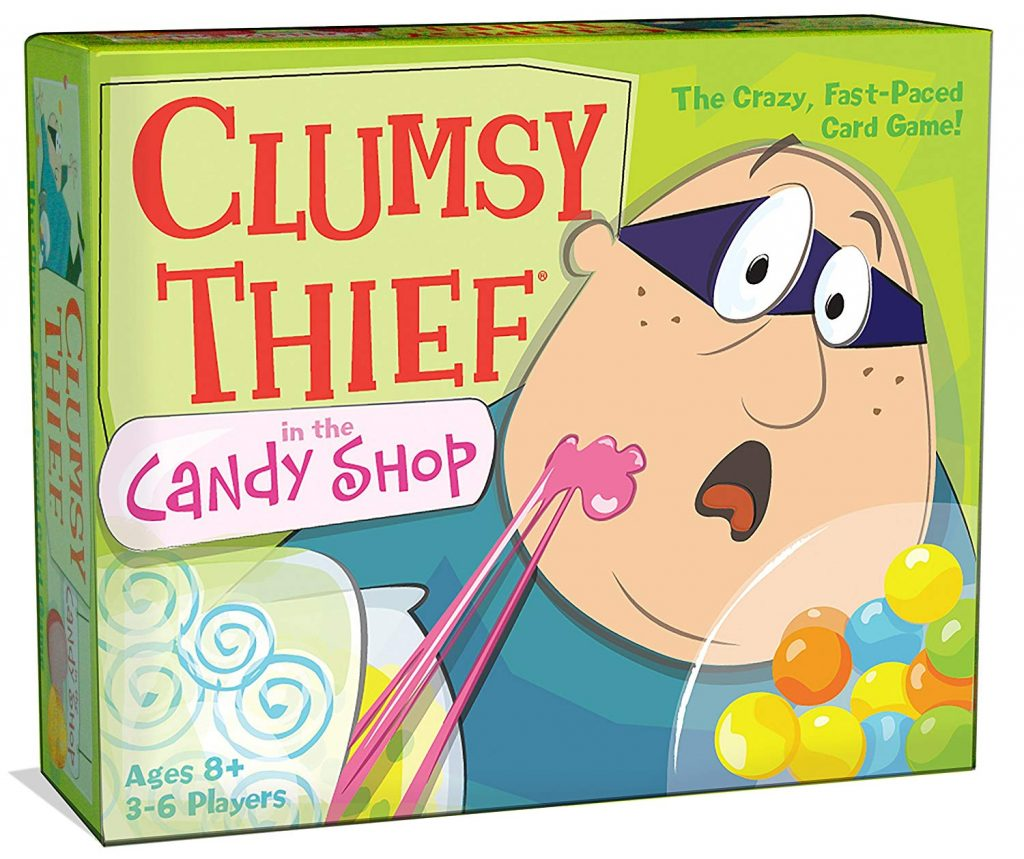 Clumsy Thief in the Candy Shop