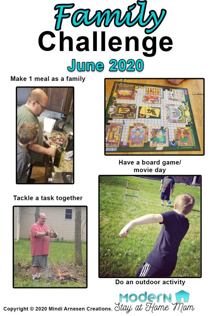 Family Challenge June 2020