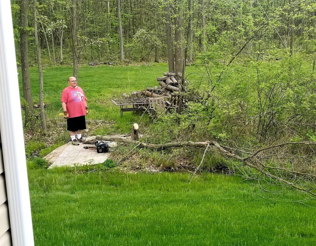 First Tree Cut Down