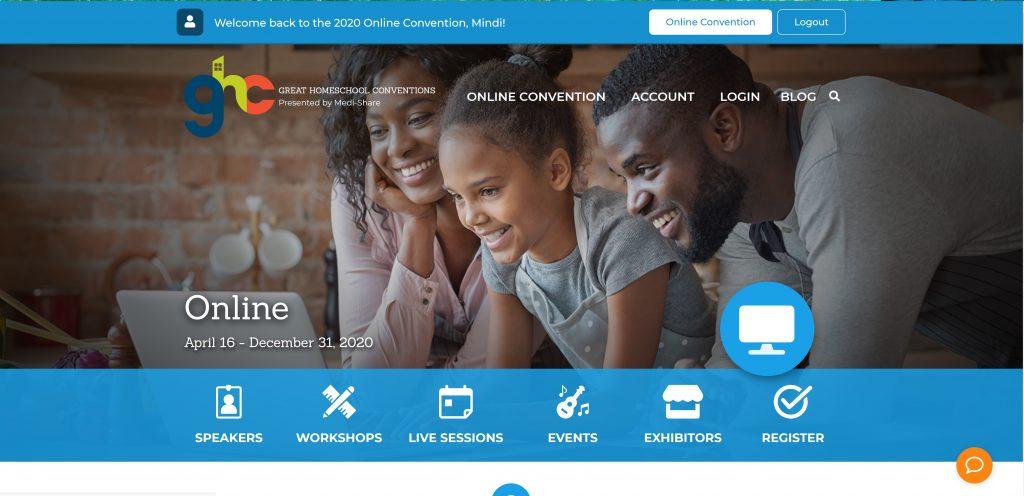 Great Homeschool Online Convention
