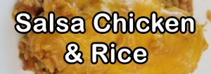Salsa Chicken and Rice