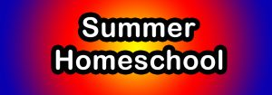 Summer Homeschool Banner