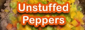 Unstuffed Peppers Banner